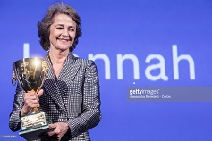 HANNAH : Charlotte Rampling wons Volpi Cup for Best Actress in Venise